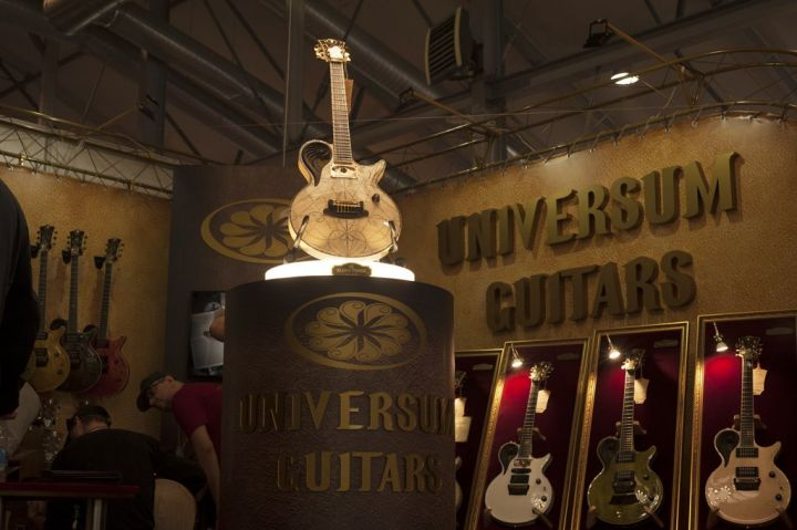 Universum Guitars to come to LA Amp Show in September 2018