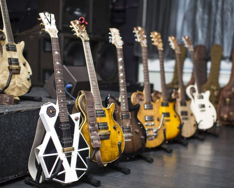 Universum Guitars at the stores of Ukraine