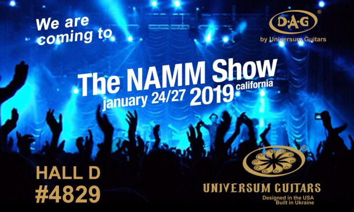 Winter NAMM 2019, Here We Come